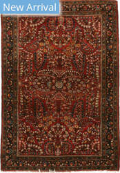 Eastern Rugs Sarouk X36049 Red Area Rug