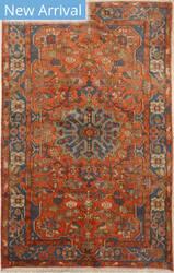 Eastern Rugs Karajeh X36050 Orange Area Rug