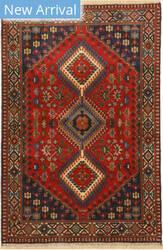 Eastern Rugs Yalameh X36064 Rust Area Rug