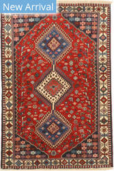 Eastern Rugs Yalameh X36066 Red Area Rug