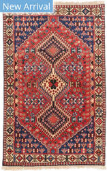 Eastern Rugs Yalameh X36068 Red Area Rug