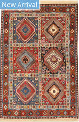 Eastern Rugs Yalameh X36069 Rust Area Rug