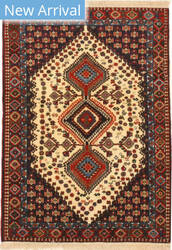 Eastern Rugs Yalameh X36080 Ivory Area Rug
