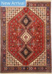 Eastern Rugs Yalameh X36083 Red Area Rug
