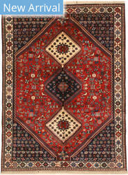 Eastern Rugs Yalameh X36087 Red Area Rug