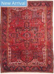 Eastern Rugs Heriz X36140 Red Area Rug