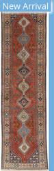 Eastern Rugs Yalameh X36199 Red Area Rug