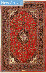 Eastern Rugs Shadsar-Kashan X36216 Red Area Rug