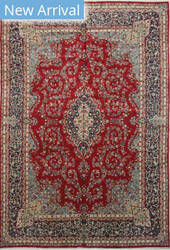 Eastern Rugs Kerman Yz865 Red Area Rug