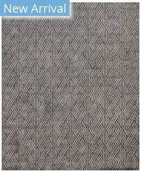 Exquisite Rugs Granite Hide Hand Stitched 2402 Smoke Area Rug