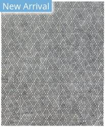 Exquisite Rugs Granite Hide Hand Stitched 2406 Silver Area Rug