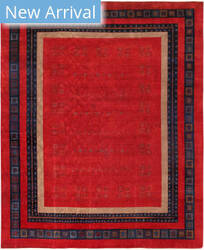 Famous Maker Gabbeh 29436 Red Area Rug