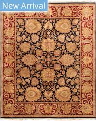 Famous Maker Mogul Art 26870 Black - Red Area Rug