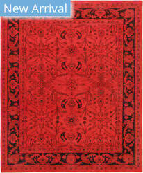 Famous Maker Overdye 37236 Red - Maroon Area Rug