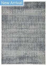 Famous Maker Datone Roan Dat-1070 Blue - Gray Area Rug