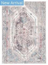 Famous Maker Ostia Navi Ost-1050 Gray - Pink Area Rug