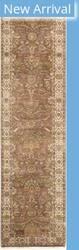 Famous Maker Tabriz P-701 Brown - Ivory Area Rug