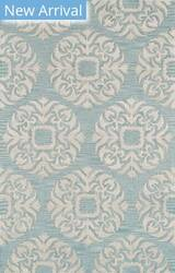 Famous Maker Transitional Pbw-784 Green - Silver Area Rug