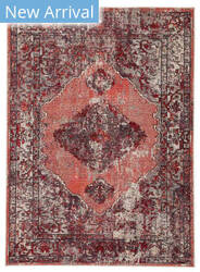 Famous Maker Pedrine Kyan Prd-1100 Red - Pink Area Rug