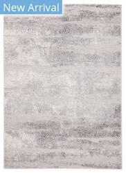 Famous Maker Tresalan Montclair Trs-1010 Gray - White Area Rug