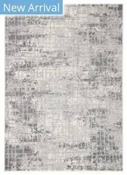 Famous Maker Tresalan Whitman Trs-1110 Gray - White Area Rug