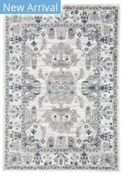 Famous Maker Valarie Freyr Val-1110 White - Light Gray Area Rug