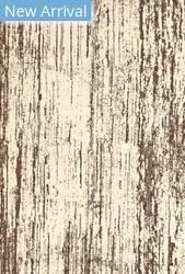 Rugstudio Sample Sale 184673R Cream - Brown Area Rug