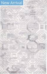 Feizy Asher 8772f Medium Grey Area Rug