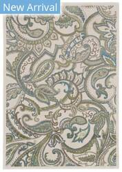 Feizy Burley I3265 Cotton - Turquoise Area Rug