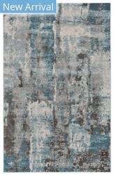 Feizy Vassar I3085 Ivory - Turquoise Area Rug