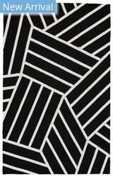Feizy Aubrey I4804 Black - White Area Rug