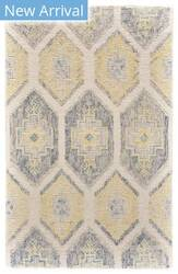 Feizy Arazad 8511f Gray - Yellow Area Rug