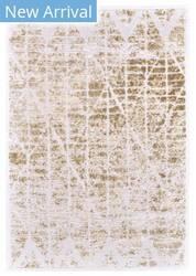 Feizy Soho Lyra I3093 White - Taupe Area Rug