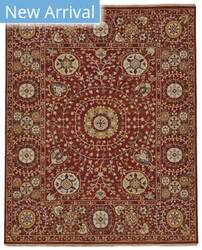 Feizy Amherst 0758f Red Area Rug