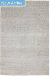 Hri Mirage Mt-103 Light Grey - Silver Area Rug
