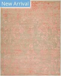 Rugstudio Sample Sale 183176R Grey - Rose Area Rug
