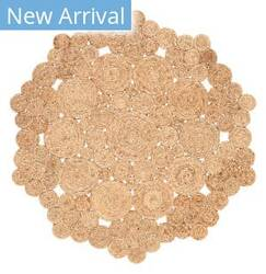 Jaipur Living Cercles Marigold Cec02 Beige Area Rug