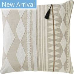 Jaipur Living Cosmic By Nikki Chu Pillow Lonyn Cnk17 Beige - White Area Rug