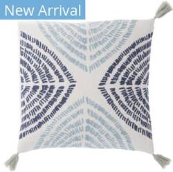 Jaipur Living Cosmic By Nikki Chu Pillow Angelika Cnk53 Blue - Silver