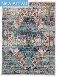 Jaipur Living Indie Farra Ide04 Multicolor - Blue Area Rug