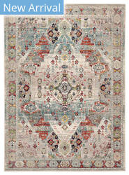 Jaipur Living Indie Farra Ide07 Multicolor - Green Area Rug