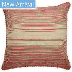 Jaipur Living Charmed By Jennifer Adams Pillow Reed Jac14 Red - Cream Area Rug