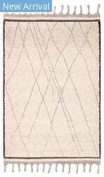 Jaipur Living Mina Danforth Min02 Ivory - Black Area Rug