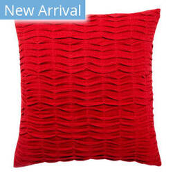 Jaipur Living Rosette Pillow Florenza Pet05 Red Area Rug