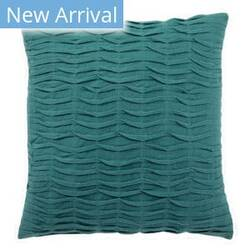 Jaipur Living Rosette Pillow Florenza Pet08 Teal Area Rug