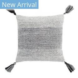 Jaipur Living Peykan Pillow Holyn Pey11 Gray - White