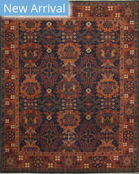 Jaipur Living One Of A Kind Pkwl-399 Medieval Blue - Soft Coral Area Rug