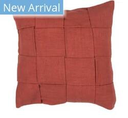 Jaipur Living Tabby Pillow Merrin Tab02 Red Area Rug