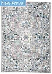 Jaipur Living Valen Lyme Val06 Light Gray - Turquoise Area Rug