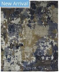 Famous Maker Harmony 100954 Blues/Greys Area Rug
